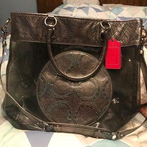 Coach (authentic) transparent tote bag